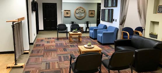 Chiropractic Dickson TN Office Waiting Room